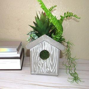 Faux Succulent Plant Decor